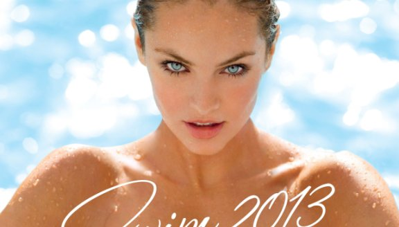 Candice Swanepoel, Doutzen Kroes in Victoria's Secret's first 2013 Swim catalogue