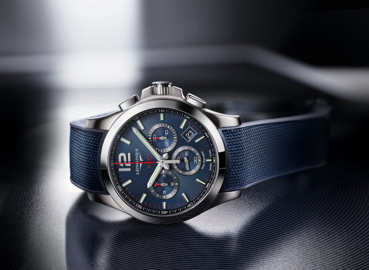 Longines launches Conquest V. H. P. watches, its flagship sport line