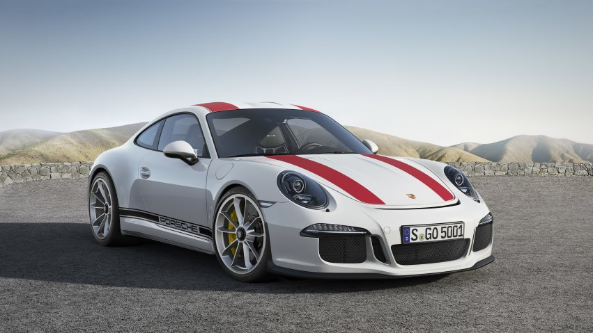 Porsche announces limited-edition 911R: the lightweight and most engaging model in the line