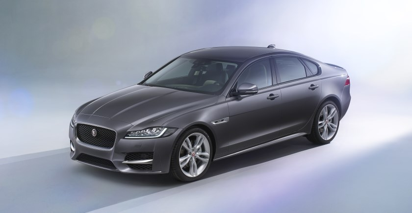 Jaguar launches second-generation XF saloon: lighter, roomier, more class-leading tech