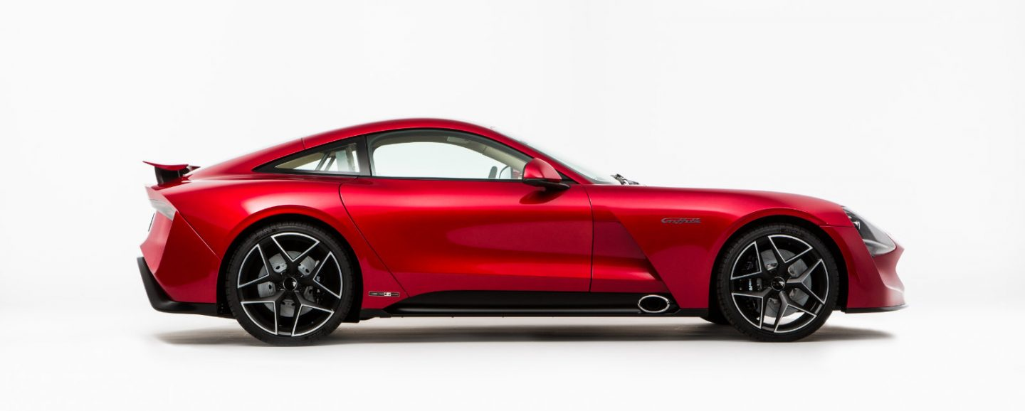 TVR returns, showing new Griffith at London Motor Show