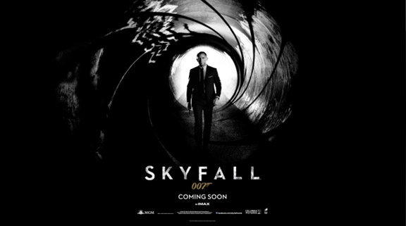 Trailer for <i>Skyfall</i>, 23rd Eon James Bond film, released