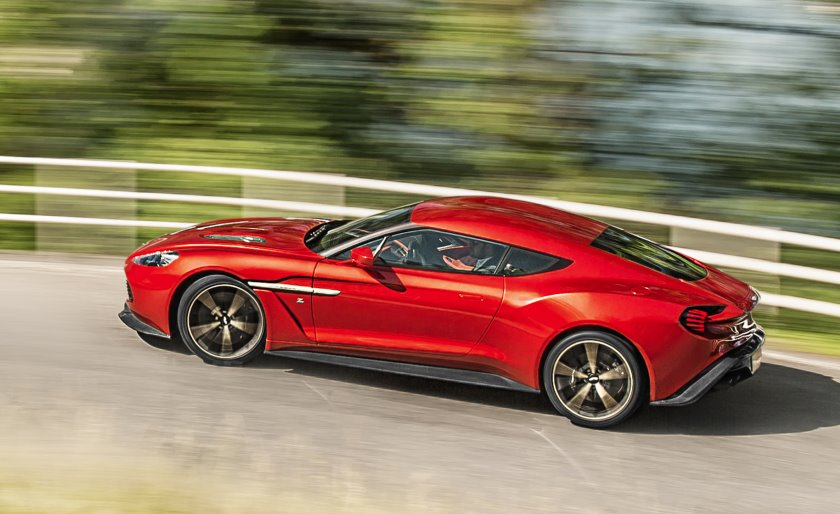 Aston Martin reveals 2017 Vanquish Zagato; production limited to 99