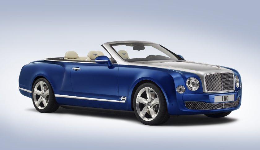 Bentley gauges interest with convertible concept as it guns for Rolls-Royce