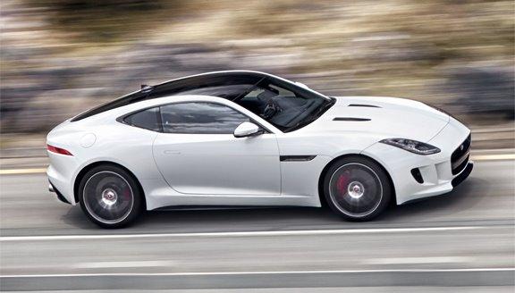 Jaguar launches F-type coupé at Los Angeles Auto Show