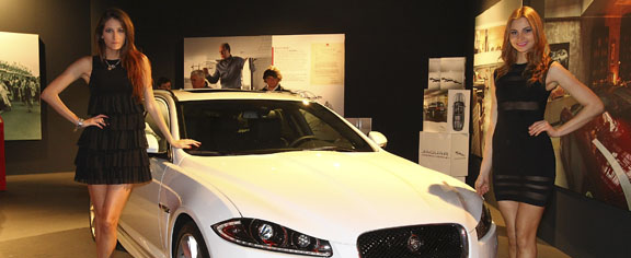 Jaguar promotes XF Sportbrake, XKR-S at Milan Fuorisalone 2012