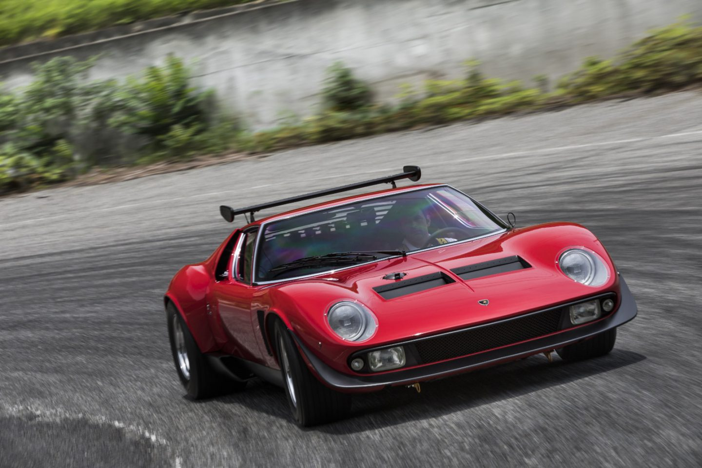 Polo Storico restores one-off Lamborghini Miura SVR