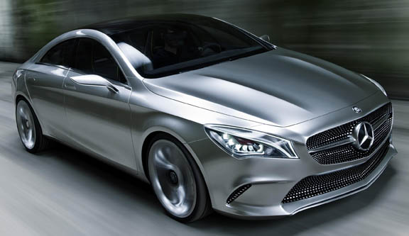 Mercedes-Benz previews CLA with Concept Style Coupé at Beijing Auto Show