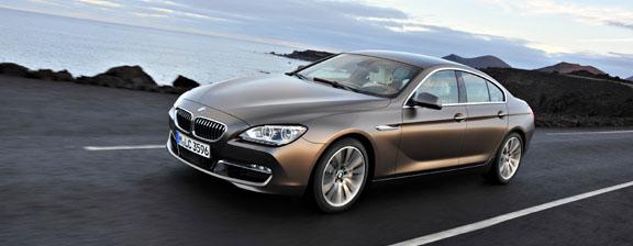 BMW introduces a four-door tourer: the 6-series Gran Coupé