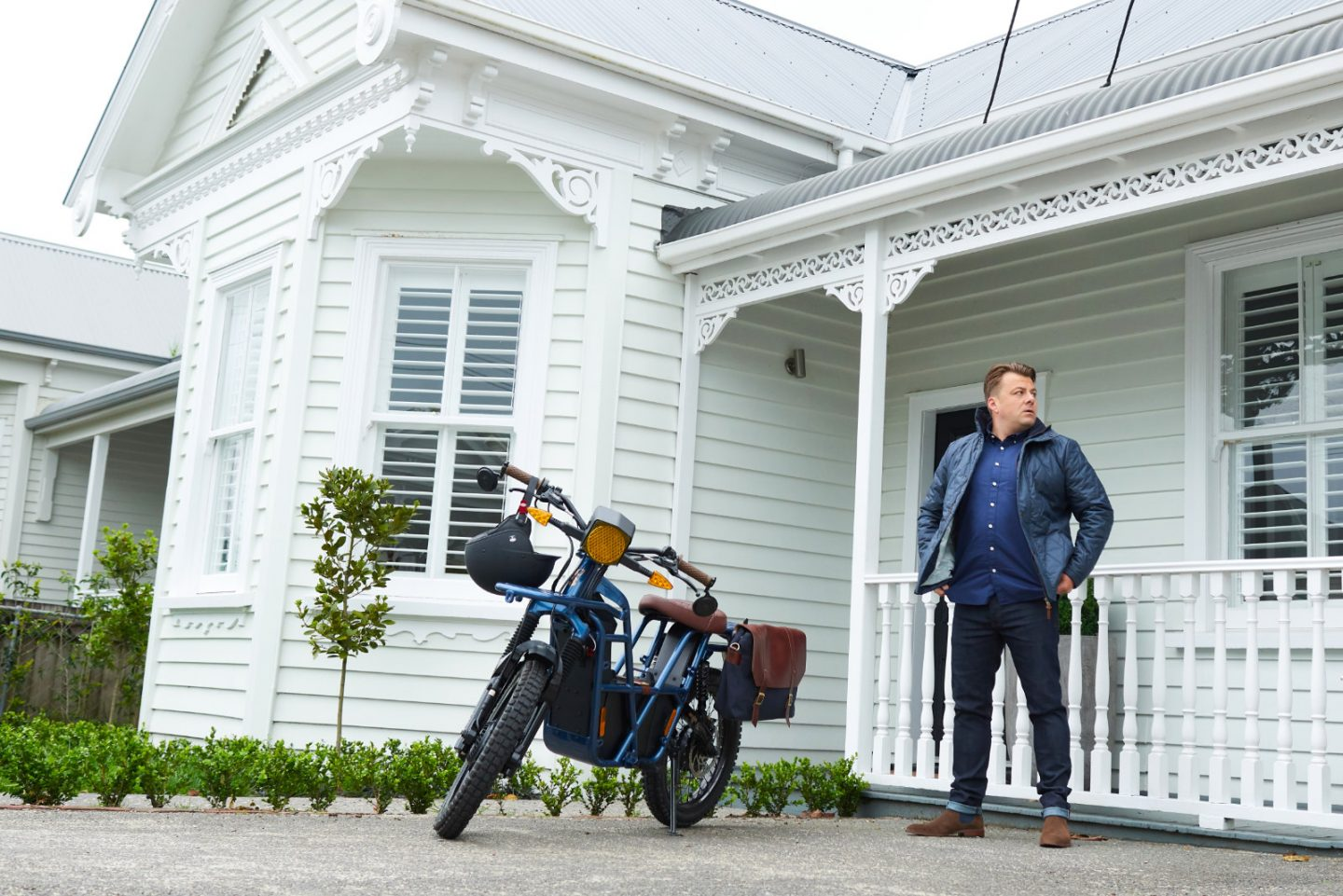 3 Wise Men collaborates with Ubco on motorcycle and capsule collection