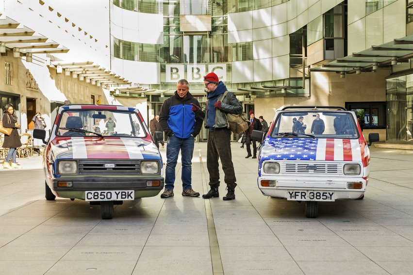 Matt LeBlanc and Chris Evans race Reliant Robins to Blackpool: <i>Top Gear</i> previewed