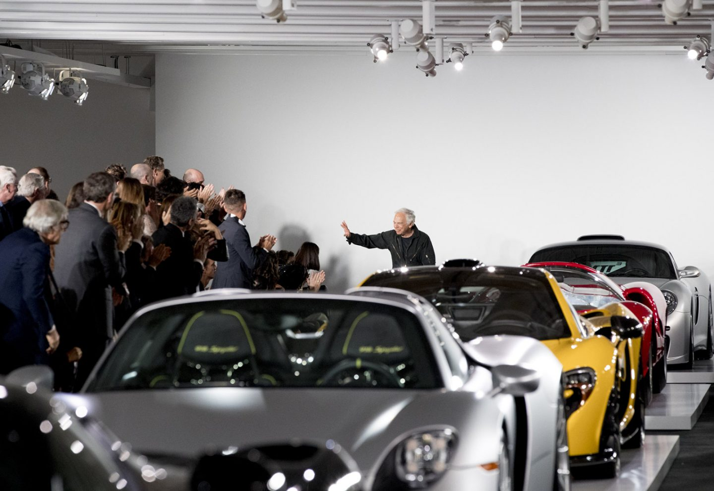 Ralph Lauren hosts a fall collection alongside his cars; Kendall Jenner, Bella Hadid model
