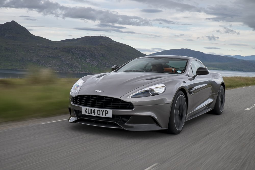 Aston Martin announces 2015 Vanquish and Rapide S, with eight-speed Touchtronic gearbox